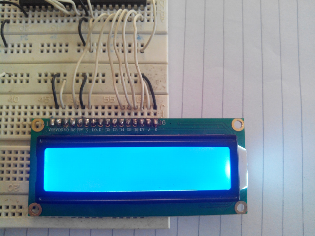 Interfacing 16x2 LCD with PIC16f877a