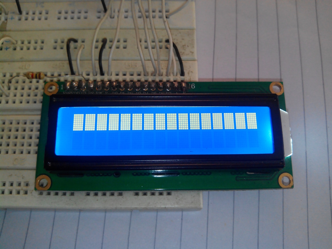 Interfacing 16x2 Lcd With Pic16f877a Blinking Led Using Pic Microcontroller Mikroc Pro Picture